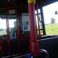 ハドリアヌスの壁行きのバス