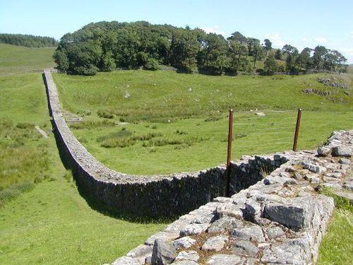 城壁との接続部