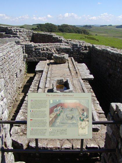 砦のトイレ