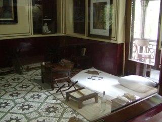 ガンジーの寝室