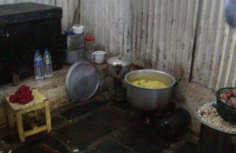 給食の調理場