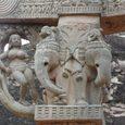 サンチー 門の像