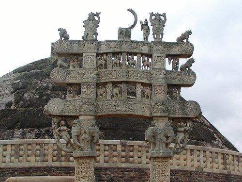 サンチー アショカ王の門
